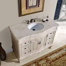 rustic white bathroom vanities. Exellent Rustic 48 Inch Antique Bathroom Vanity Cream Marfil Top In Rustic White Vanities I