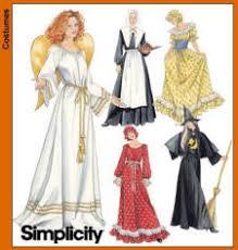 Simplicity Patterns Costumes Delectable Christmas Craft Customs Simplicity Sewing Pattern 48 For