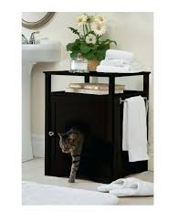 litter box furniture cat enclosed covered. Hidden Litter Box Kitty Furniture Enclosed Cat Covered End Table Cabinet Dog Cheap L