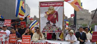 newspaper magazine articles dalai lama protesters info reuters co opts a buddhist sect in global effort to smear dalai lama
