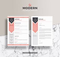 Modern Resume Cover Letters Free Modern Resume Cv Template For Designers And Developers With