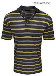 Callaway Color Chart Amazon Com Callaway Mens Golf Performance Heather Striped