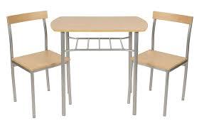 Ts Ideen 3er Set Essgruppe Tisch Stuhl Platzsparend Esstisch 3