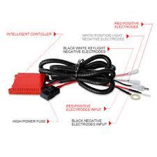 12v 40a led spot fog light bar wiring harness loom switch kit 4wd image is loading 12v 40a led spot fog light bar wiring