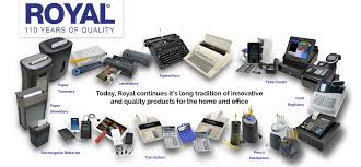 Cash Registers And Office Equipment Royal Consumer Products