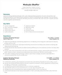 Marketing Assistant Resume Custom Cover Letter For Marketing Assistant Sample Marketing Assistant