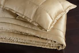 donna karan collection gold dust silk quilt loading zoom