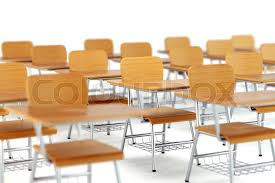 school desk and chair in classroom. Wonderful Classroom School Desk With Chair In Classroom Wooden Furniture On White Background  3D Illustration  Stock Photo Colourbox Inside Desk And Chair In Classroom S