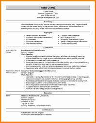 10 Cv Format Teachers Job Theorynpractice