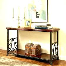 Contemporary Entry Table Modern Furniture Country Wrought Iron Console