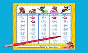 Potty Training Chart Printable Paw Patrol 29 Up To Date Paw Patrol Potty Chart