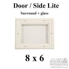 steel door window insert marvelous replacement glass surround lite interior design 7