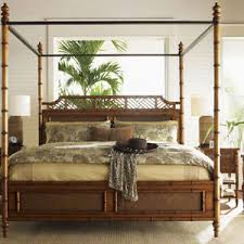 bamboo poster bed.  Bed La Foto Se Est Cargando FourPosterBedsBedFrameCanopyRattanBamboo In Bamboo Poster Bed R