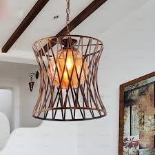 unique pendant lighting fixtures. e27 wrought iron unique pendant lights glass shade lighting fixtures