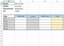 how to make a timesheet in excel how to create a simple excel timesheet
