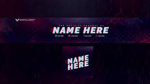 Youtube Logo Templates Top 3 Free Youtube Banner Template Logo Template Free
