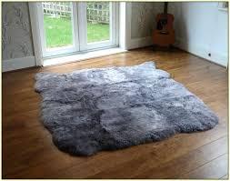 grey lambskin rug large grey sheepskin rug grey sheepskin rug canada