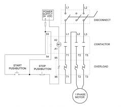 reversing starter wiring diagram how to wire a motor starter with overloads at Reversing Starter Wiring Diagram