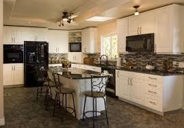 Brilliant Kitchen Ideas White Cabinets Black Appliances 2016 I On Perfect Design