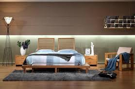 practical bamboo furniture bedroom hotel double beds