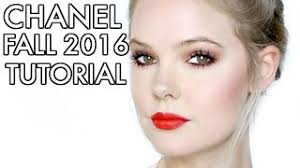 chanel fall 2016 makeup tutorial le