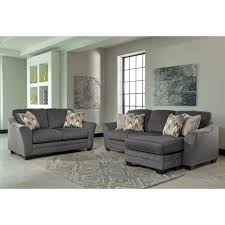 Ashley Furniture Braxlin Livingroom Set in Charcoal