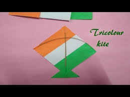 Kite Making Tiranga Kite Independence Day Craft 15 August Craft For School Decoration
