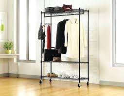temporary closet storage portable clothes rack with shelves to make closet shelves temporary clothes rack wardrobe temporary closet storage