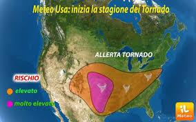 USA ~ inizia la STAGIONE dei TORNADO, marcato MALTEMPO in ...