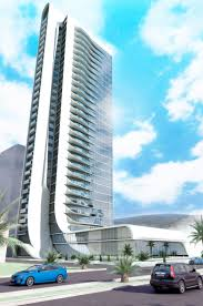 office block design. A 33-storey Office Tower Design In Izmir. Block E