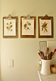 kitchen wall art to diy