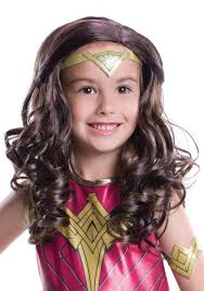 Wonder Woman Hair Style dawn of justice child wonder woman wig 8135 by wearticles.com