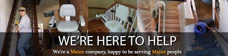 wheelchair stair lift. Maine Company Serving People! Wheelchair Stair Lift