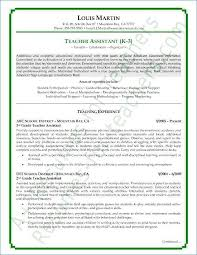 Teaching Resumes Extraordinary Resume Examples For Teachers Unique Teaching Resume Examples Resume