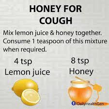homemade honey remedy for cough