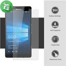 microsoft lumia 950. iscreen microsoft lumia 950 xl glass 9h \u2013 0.33mm 2.5d screen protector