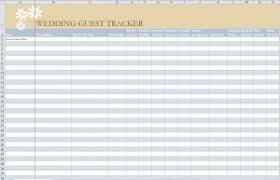 Wedding Guest List Template Excel Download Wedding Guest List Template Wedding Guest List