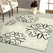 black area rug 5 gallery area rugs black and white damask rug