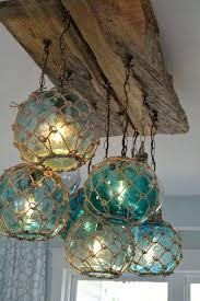 beach inspired lighting. Beach Inspired Chandeliers Vintage Glass Fishing Float Light Fixture Chandelier With 7 Floats Lights . Lighting I