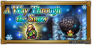 "FF Record Keeper on Twitter: ""The A Way Through the Snow challenge event is  now underway. Recruit Maria, Josef, Hilda, Gordon, and Scott! Get a 5☆  accessory as a dungeon reward! Log"