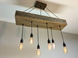 Rustic Wood Light Fixtures Reclaimed Half Beam Light Fixture With Reclaimed Wood Top