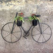 wall hanging cycle wall decor planter on bike wall decor with basket with wall hanging cycle wall decor planter handtribe