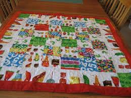 30 best Hungry little caterpillar images on Pinterest | Baby ... & The Very Hungry Caterpillar Quilt Crib Size Quilt from the Quiltsy Etsy Team Adamdwight.com