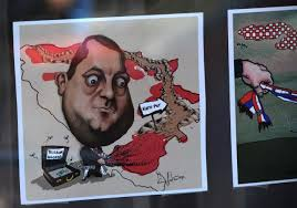 Image result for dodik covic karikature