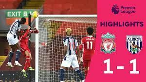 HIGHLIGHTS] คลิปไฮไลท์การแข่งขันฟุตบอลพรีเมียร์ลีก สัปดาห์ที่ 15 ลิเวอร์พูล  1-1 เวสต์ บรอมวิช - YouTube