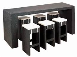 extraordinary bar table with stools highest clarity  decoreven