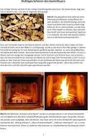 Ratgeber Zum Richtigen Schüren Des Kaminfeuers Pdf