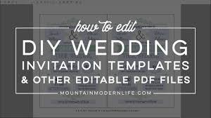 Wedding Invitation Templates With Photo Free Wedding Invitation Template Mountainmodernlife Com
