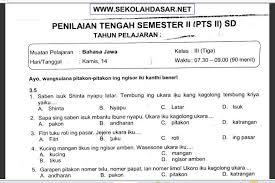 Orang jawa tapi tidak mengenal basa jawa, lucu kan. Kunci Jawaban Lintas Jatim Bahasa Jawa Kelas 10 Semester 1 File Guru Sd Smp Sma