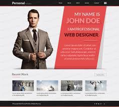 ... sample personal resume website